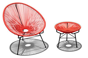 Atomic Style Flower Chairs